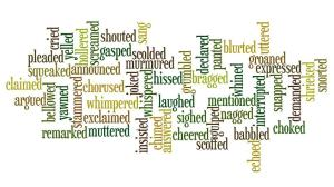 Wordle - Words other than 'said'.mht